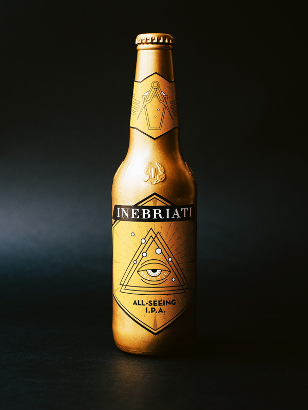 Inebriati Beer Label
